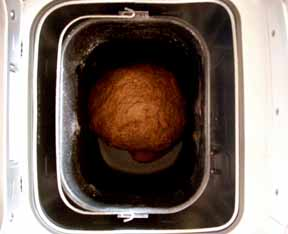 Black Strap Rye Bread Mid-Cycle