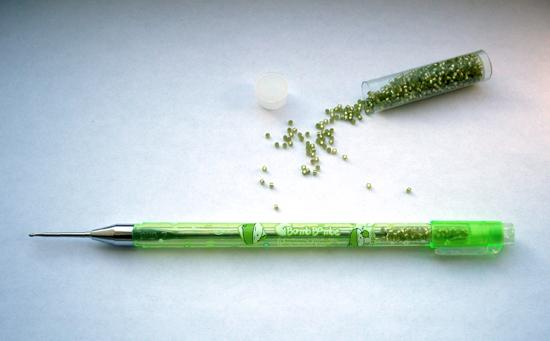 Hook up pen