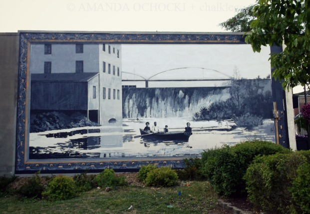 Old Mill Pond Mural