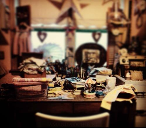 AMANDA OCHOCKI Artroom Nov 2015 a mess