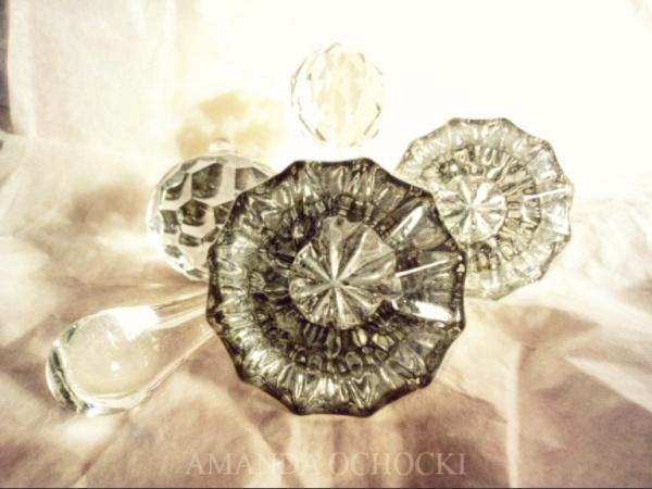 AMANDA OCHOCKI my vintage crystal knobby bits