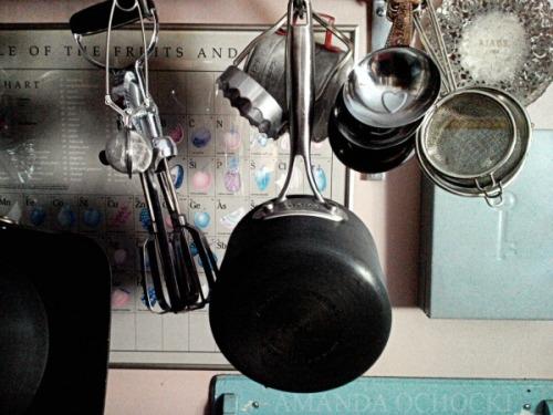 Blog AMANDA OCHOCKI Kitchen clutter